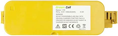 GC® (3.5Ah 14.4V Ni-MH pile) Batteria per iRobot Roomba Dirt Dog Aspirapolvere