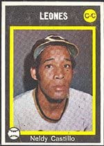1973 Made in Venezuela Stickers (Baseball) Card# 260 neldy ...