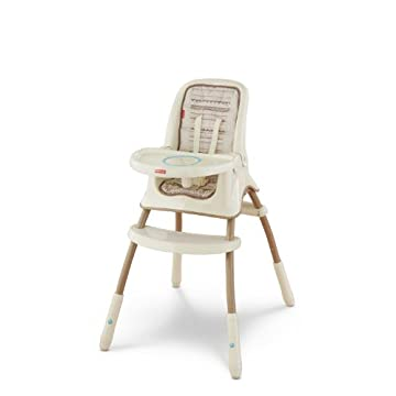 Fisher-Price Grow with Me High Chair, Bunny