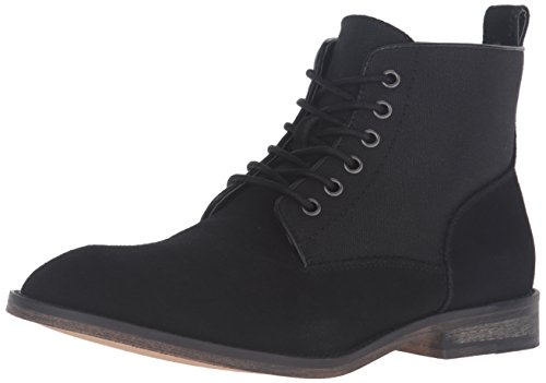 Guess Men's Eamon Boot, Black, 9 M US (Man Boots For Sale)