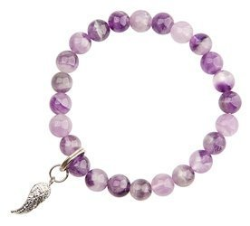 Amethyst / Angel Wing - Good Health & Protection