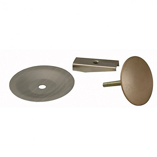 Jones Stephens Pearl Nickel PVD Faucet Hole Cover- Pack of 5