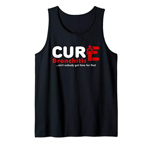 Cure Bronchitis Awareness 1 Tank Top