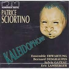 (Patrice Sciortino: Kaleidophone (1979) - Concerto for Violin and double wind quintet; Calamus (1989) - Concerto   for Bass Clarinet and 9 instruments; Signatures (1981) - for clarinet trio; Sept Souffles (1980))