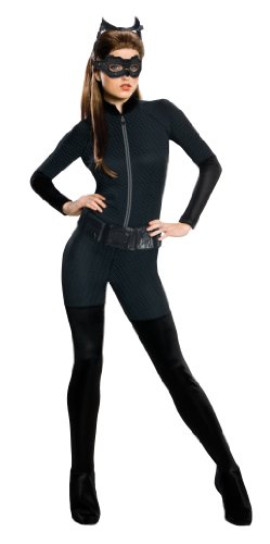 Rubie's Costume Co Batman Dark Knight Rises Adult Catwoman Costume, Black, Large (Catwoman From The Dark Knight Rises)