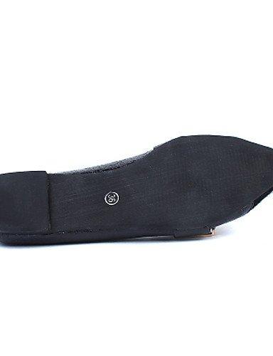 tacón nbsp;Piel sintética nbsp;Negro azul shangyi nbsp;– planas nbsp;Bailarinas zapato damas nbsp;– guantes nbsp;– nbsp;– nbsp;Plano nbsp;LÄSSIG nbsp;– Guantes Azul mujer nbsp;– nbsp;puntiaguda para qZPwF