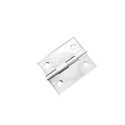 Zerama Stainless Steel Hardware Furniture Flap Butt Hinges Multi-Function Mute Ball Bearing Door Hinges (Bearings Hinges Steel)