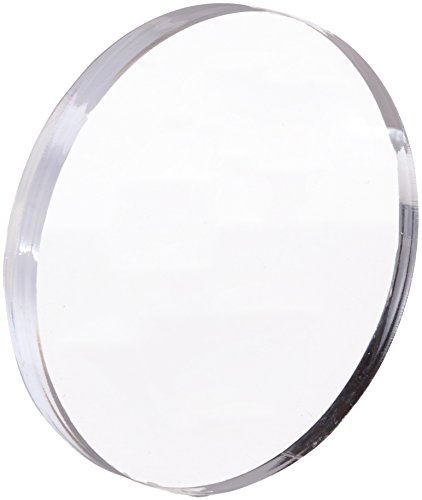 Acrylic Disc, Transparent Clear, 4