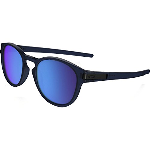 Oakley Mens Latch Matte Crystal Blue/Sapphire Iridium (Oakley Uv Protection Sunglasses)