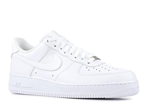 NIKE Air Force 1 07 Men's Shoes White/White 315122-111 (8.5 D(M) US)