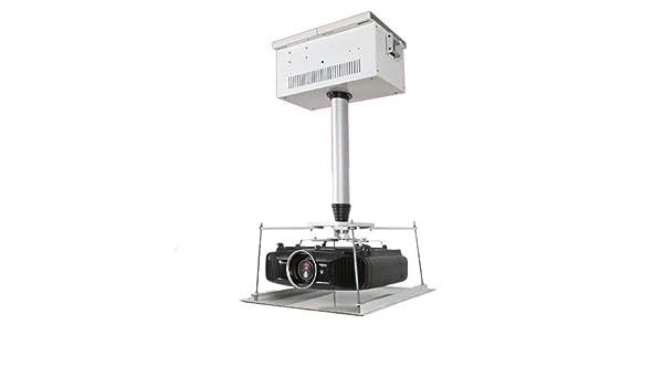 CGOLDENWALL 100-400cm Soporte para Proyector de Techo Elevador de ...
