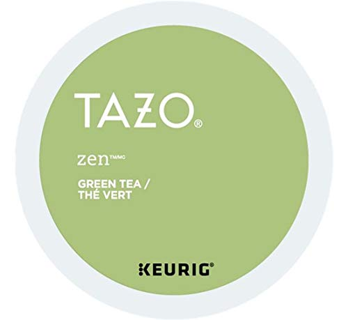 Keurig Tea and Ice Tea Pods K-Cups 18/22 / 24 Count Capsules ALL BRANDS/FLAVORS (Twinings/Chai/Celestial/Lipton/Tazo/Diet Snapple) (24 Pods Tazo Zen Tea) -  Globalpixels