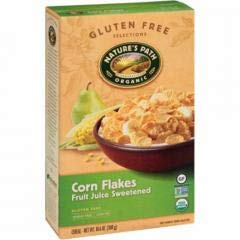 Nature's Path - Fruit Juice Sweetened Corn Flakes Cereal (12-10.6 oz boxes) - Pure Cornmeal, Lightly Sweetened