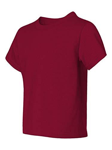 Jerzees Youth Heavyweight BlendT-Shirt - Cardinal - XS ()