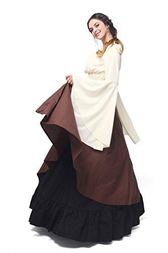 ni Mittelalterliche Kostüm Nuoqi Party Maxi Langarm Kleid Königin Kleid Damen Gc229a 5xqvU
