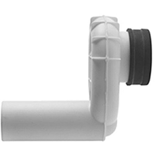 Duravit 0051120000 Siphon for Horizontal Outlet for Urinals by Duravit