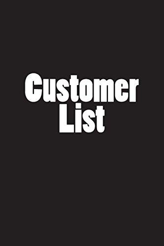 Customer List: Notebook por Wild Pages Press