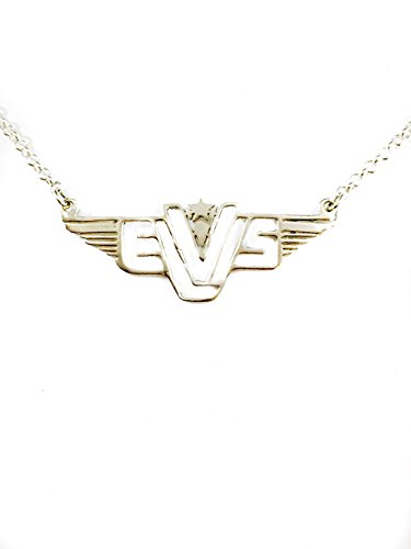 Elvis in Concert the Final Curtain Logo Pendant Necklace Sterling Silver 925