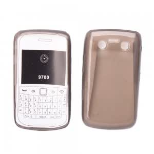 Soft Crystal Case for Blackberry Bold 9700 Gray