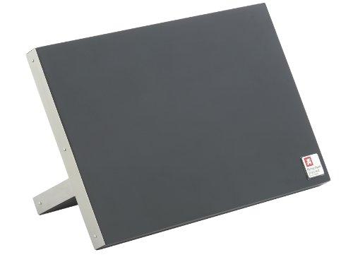 Richardson Sheffield R164HSRC57846 Magnet-Messerblock, Edelstahl unbestückt, schwarz