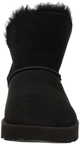 UGG Damen Classic Cuff Mini Winterstiefel Schwarz