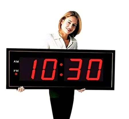 large digital wall clock Amazon.com: Giant 8