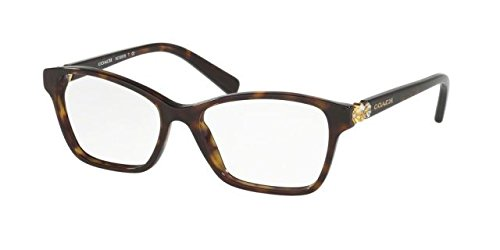 Coach Women's HC6091B Eyeglasses Dark Tortoise - Coach Frames Womens