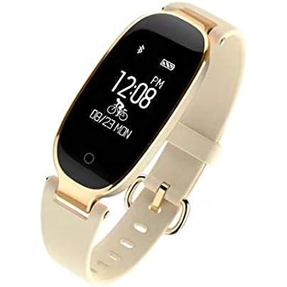 LNLZYF smart wristband Smart Band Heart Rate Monitor Lady Female Fitness IP67 Waterproof Band Bracelet Tracker Bluetooth Women Sport Wristband Estimated Price £49.00 -