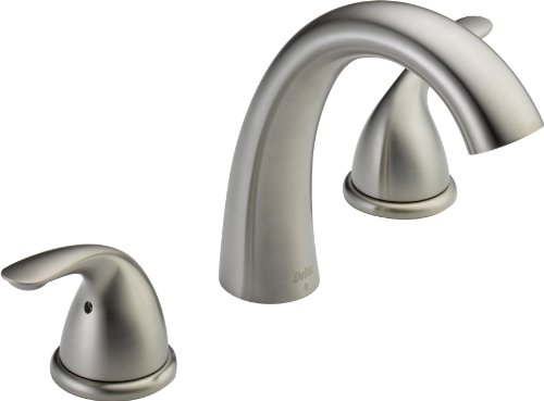 Delta T5722-SS Classic Roman Tub Trim, Stainless (Valve not included) ()