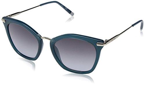 Calvin Klein Women's Ck1231s Cateye Sunglasses, Petrol, 54 mm by Calvin Klein
