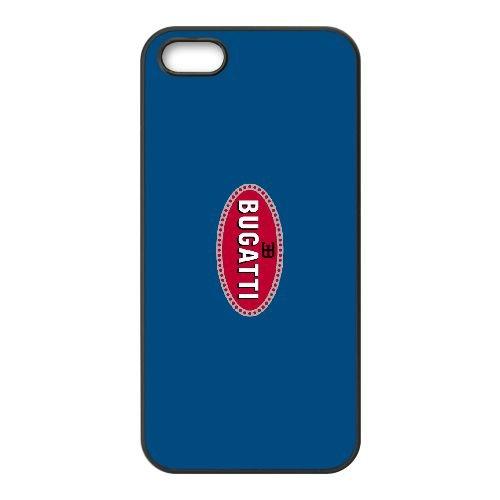 Bugatti 001 coque iPhone 4 4S cellulaire cas coque de téléphone cas téléphone cellulaire noir couvercle EEEXLKNBC23935
