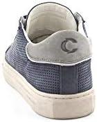Crime London Luxury Fashion Homme 11513BLUE Bleu Cuir Baskets | Printemps-été 20