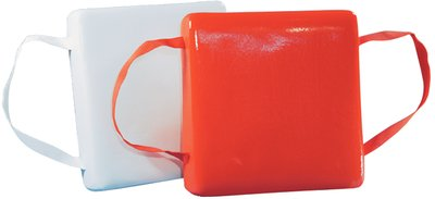 Jim-Buoy 101 Obuoyant Cushion with Vinyl Coated Foam, Orange ()