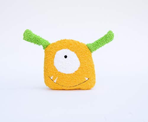 Bath Toy Sponge Baby Washcloth Monster