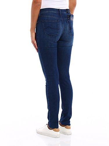 Coton Jeans Femme Jacob Cohen Bleu KIMBERLYSLIM08768W4004 B7FW7xnw