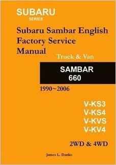Subaru sambar english service manual 9780557027804 amazon books subaru sambar english service manual fandeluxe Images