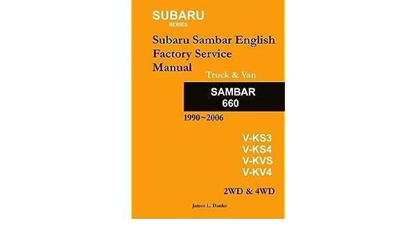 subaru sambar english service manual 9780557027804 amazon com books rh amazon com subaru sambar english service manual Subaru Exiga