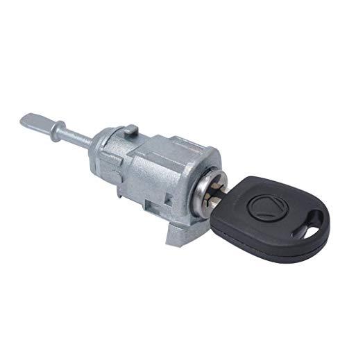 D DOLITY Left Door Lock Cylinder Barrel Repair Kit Set for VW Bora 97-05