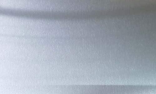 """Set of 4 16ga Galvanized Sheet Metal Plate 6/"""" x 12/"""""""