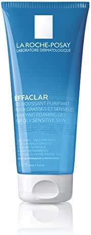 La Roche-Posay Effaclar Facial Cleanser for Oily Skin Purifying Foaming Gel Face Wash 6.76 Fl. Oz