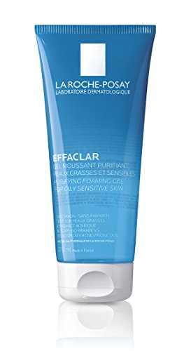La Roche-Posay Effaclar Facial Cleanser for Oily Skin Purifying Foaming Gel Face Wash 6.76 Fl. Oz