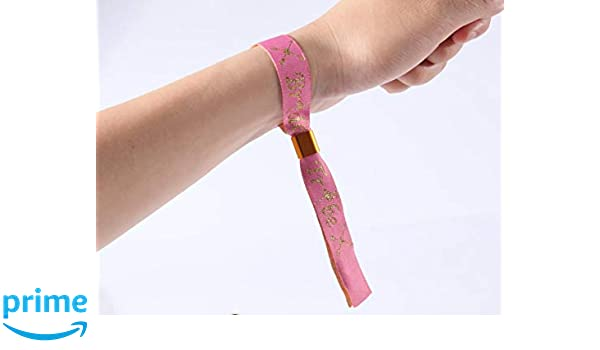 Flair 10 x Pulseras de la Tribu de la Novia Flamenca de Color Rosa ...
