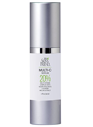 Vitamin C Serum With Probiotics from Raw Organic Kombucha - 20% professional strength – Smoothes fine lines - Compare with other Organics in ingredients and price - R-E-A-L Vitamin C NOT M.A.P.