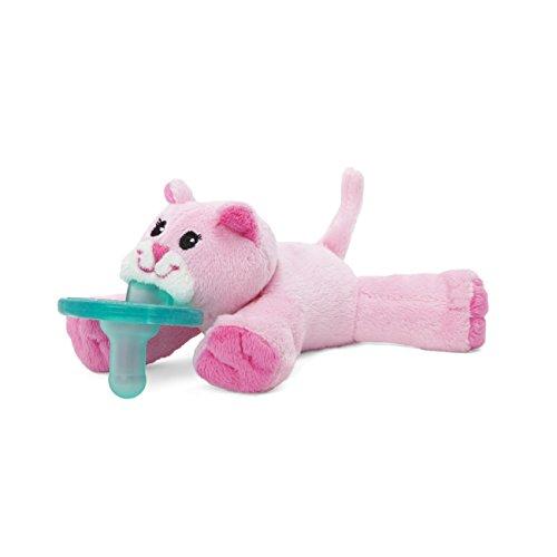 WubbaNub Pink Kitty Pacifier]()