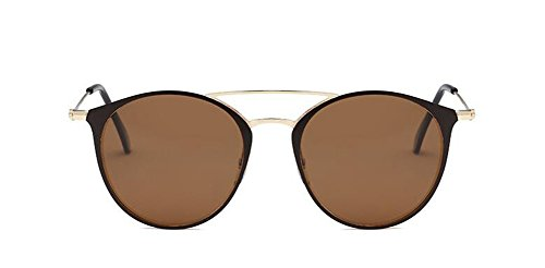 du métallique en D vintage de soleil rond Lennon cercle polarisées retro inspirées style lunettes wqAIWzPxOx