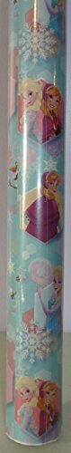 Disney Frozen ~ Elsa, Anna, & Olaf ~ Gift Wrapping Paper 40 Sq. -