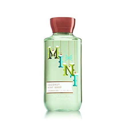 - Bath and Body Works Coconut Mint Drop Shower Gel 10 Oz.