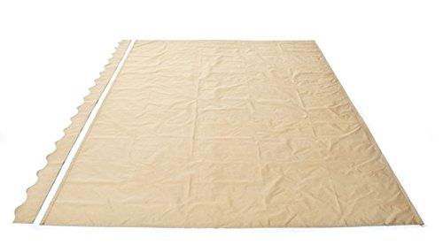 ALEKO AW10X8SAND31 Retractable Patio Awning 10 x 8 Feet Sand