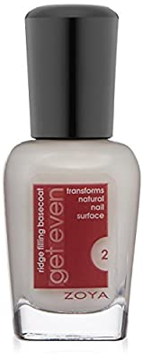 ZOYA Get Even Ridge Filling Basecoat, 0.5 Fluid Ounce