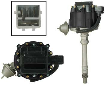 New Distributor for GM 5.0 305 V8 1981-1986 Chevy GMC Truck C K Van G P Complete Assembly by Parts Player